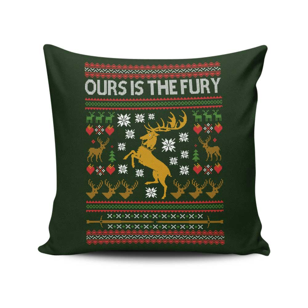 Ours is the Holiday - Throw Pillow