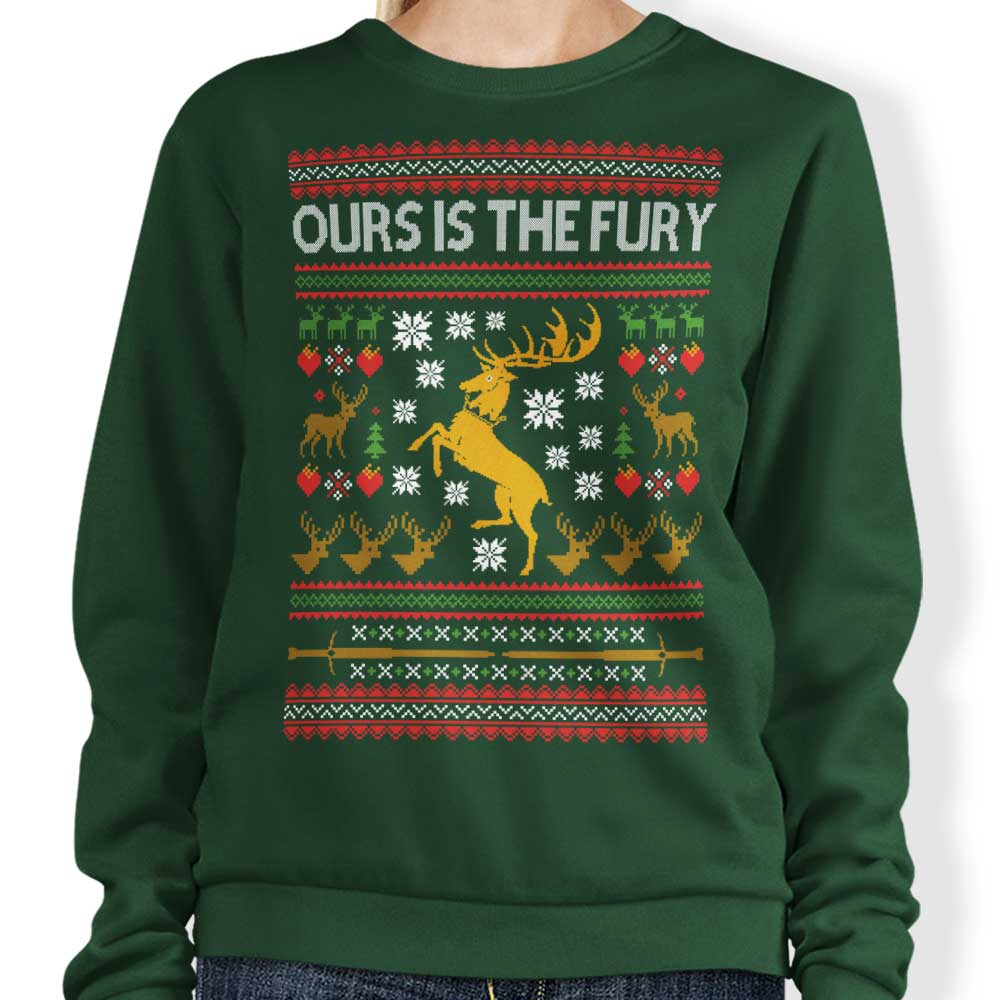 Ours is the Holiday - Sweatshirt