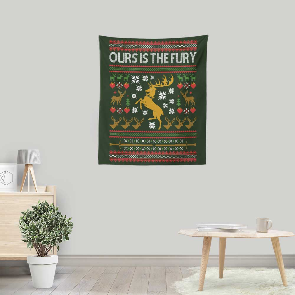 Ours is the Holiday - Wall Tapestry