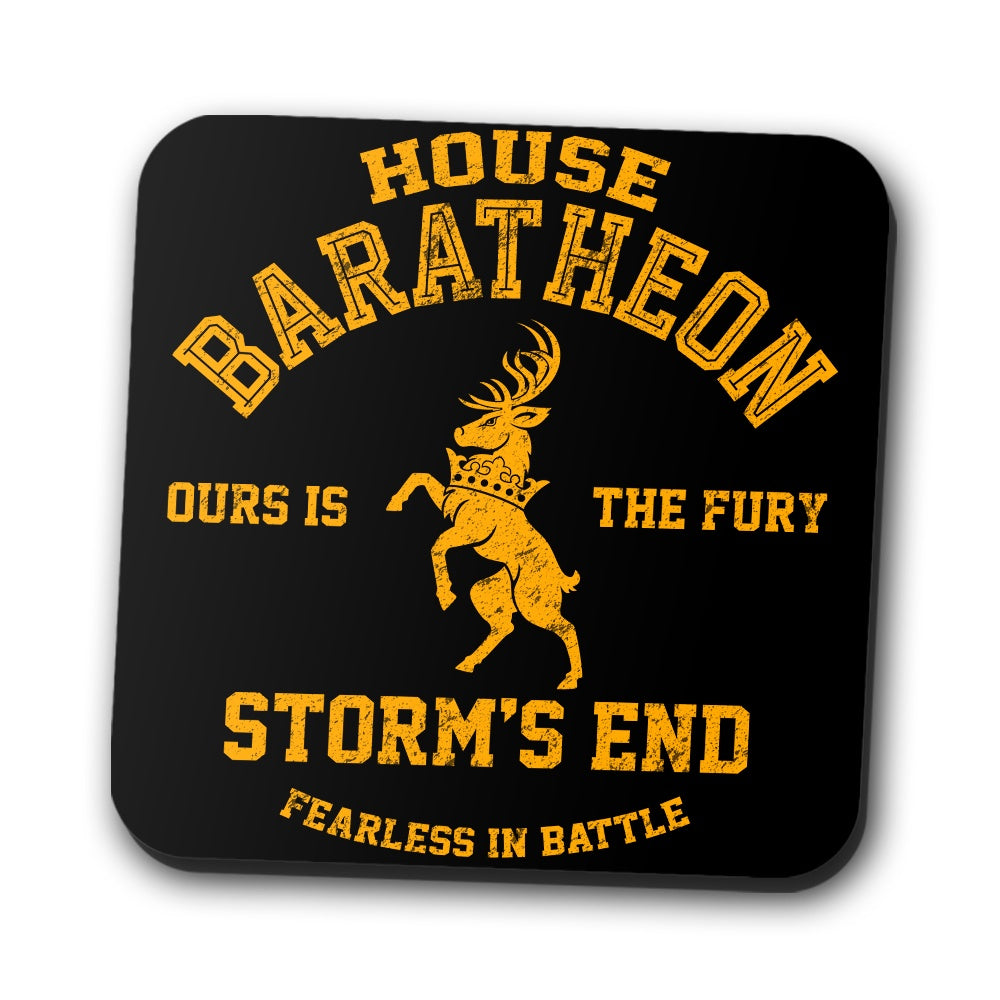 Ours is the Fury - Coasters