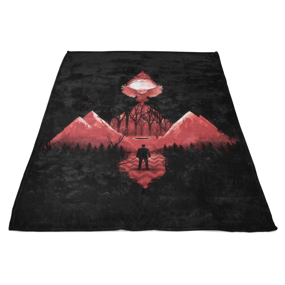 Out of the Woods - Fleece Blanket