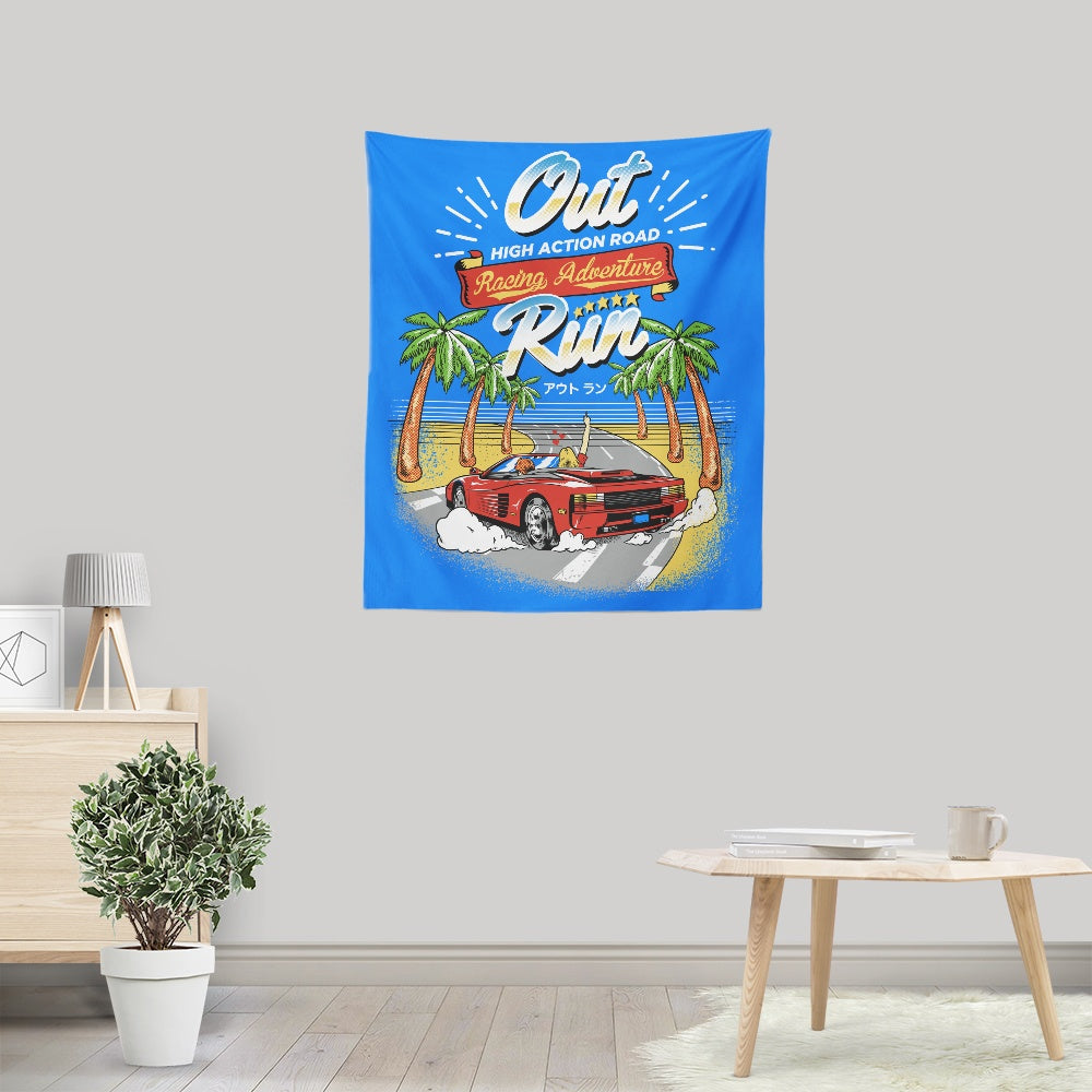 Outrun - Wall Tapestry