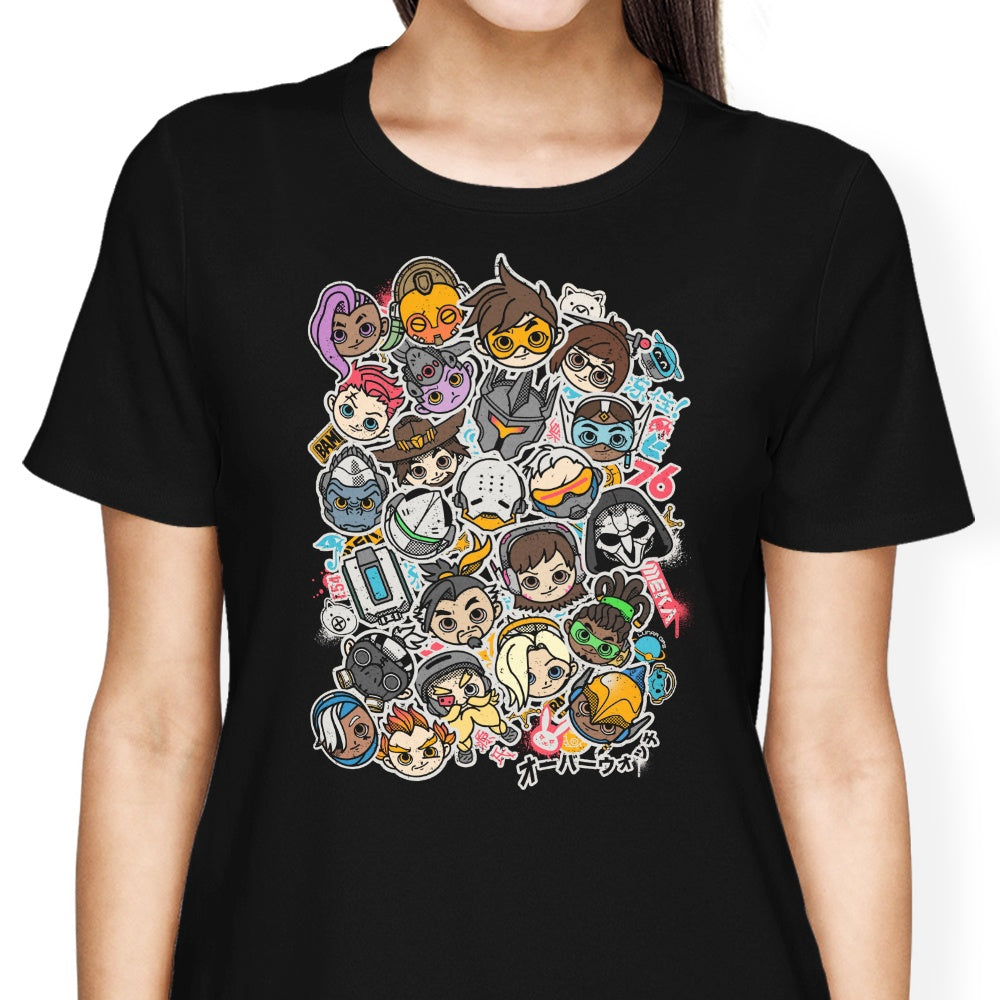 Overcute Heroes - Women's Apparel