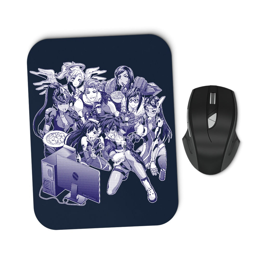 Overnight Party - Mousepad