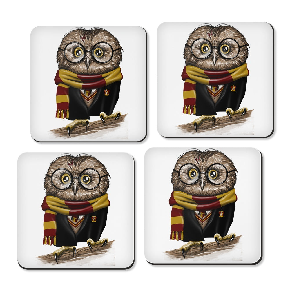 Owl Potter - Coasters