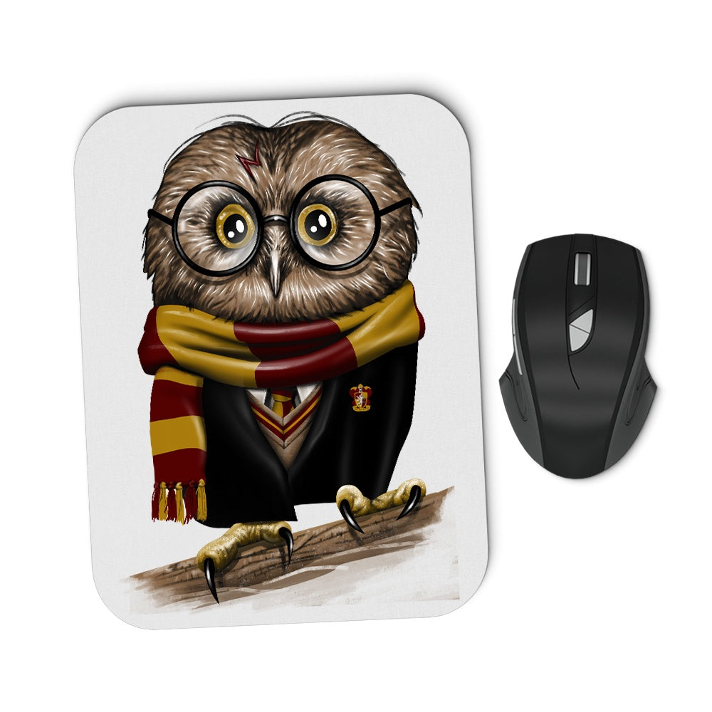 Owl Potter - Mousepad