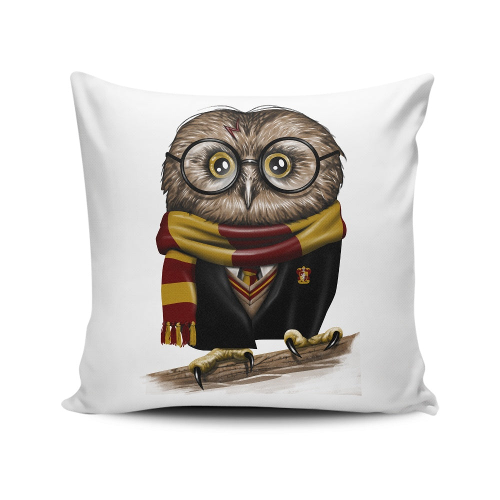 Owl Potter - Throw Pillow