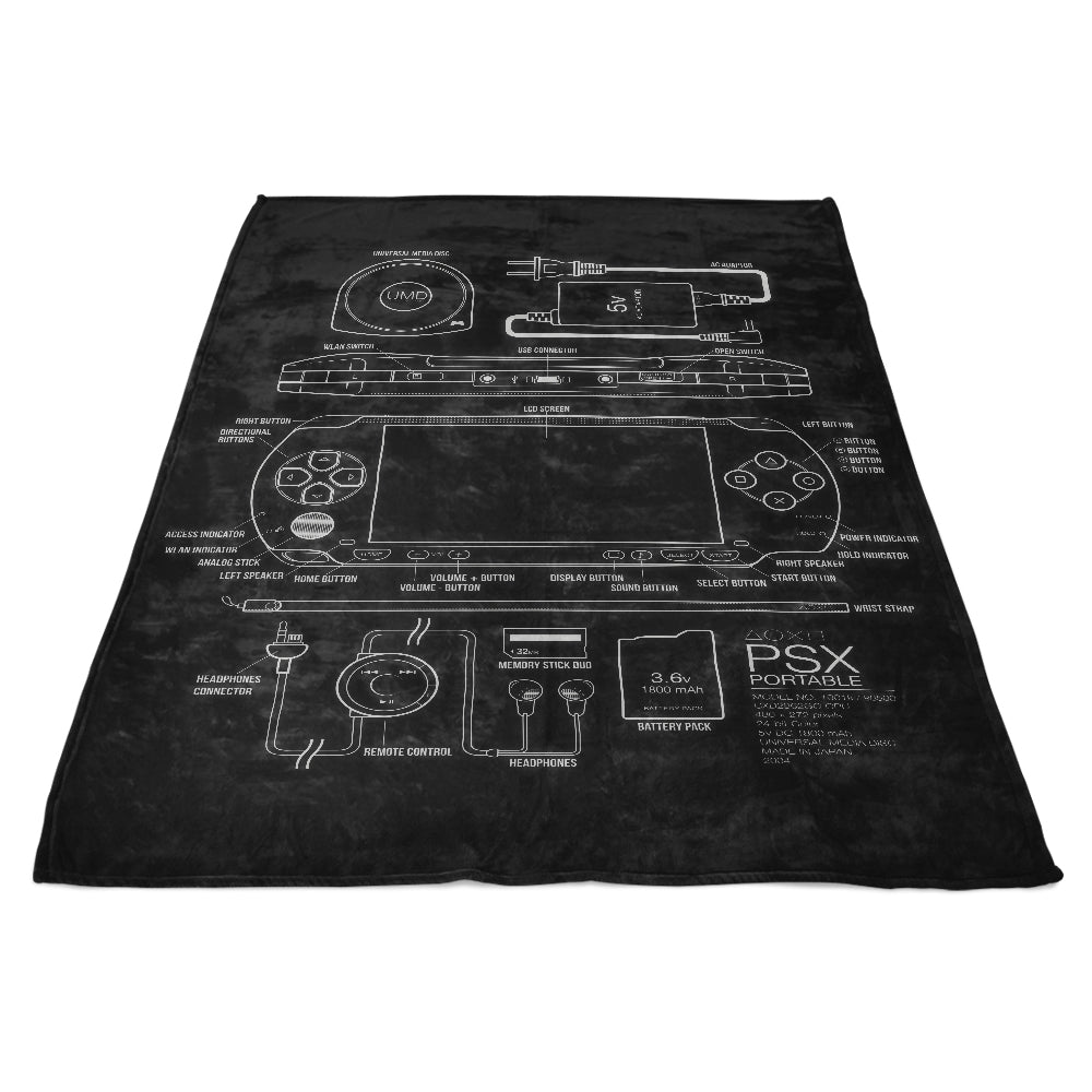 PSX Portable - Fleece Blanket
