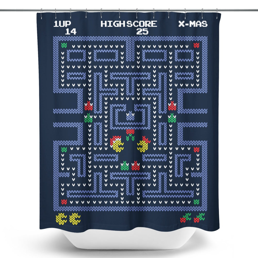 Pacman Fever Shower Curtain Once Upon A Tee