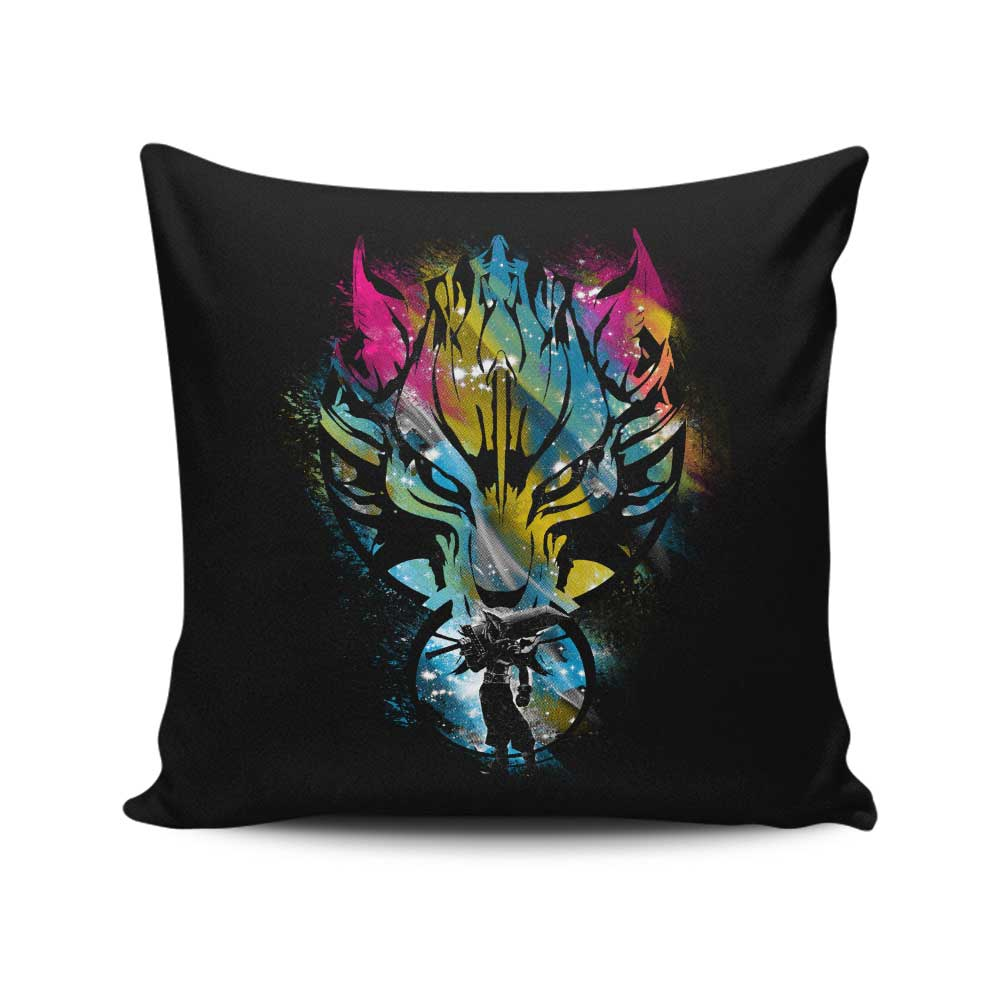 Path for the Ex-Soldier - Throw Pillow