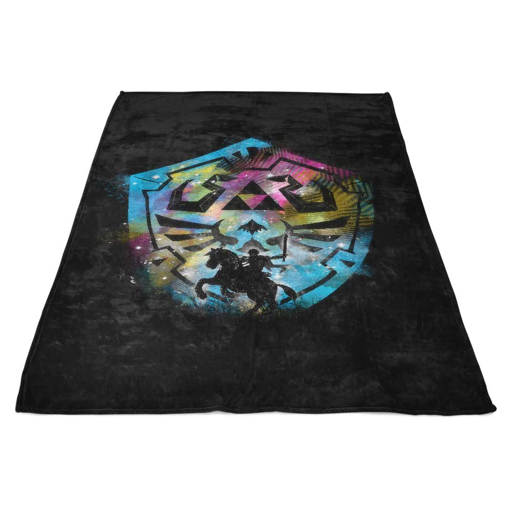 Path for the Hero - Fleece Blanket