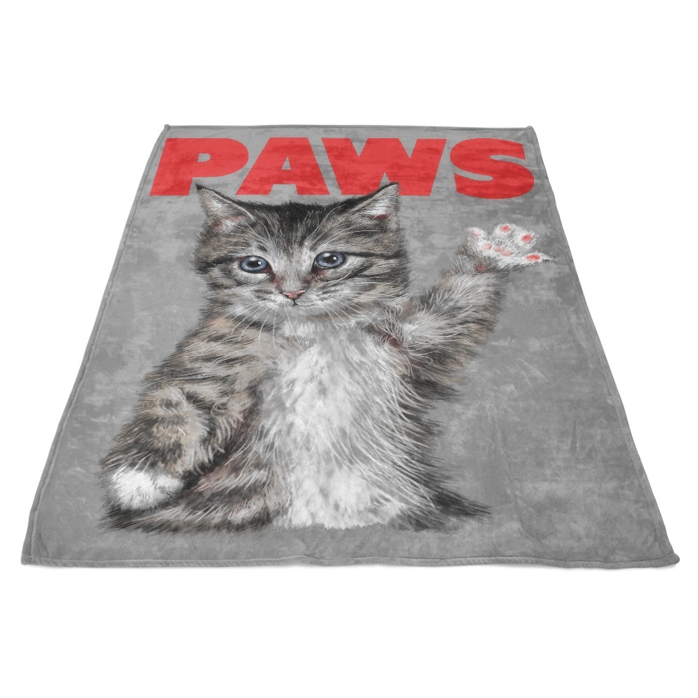 Paws - Fleece Blanket