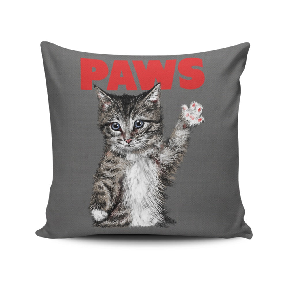 Paws - Throw Pillow