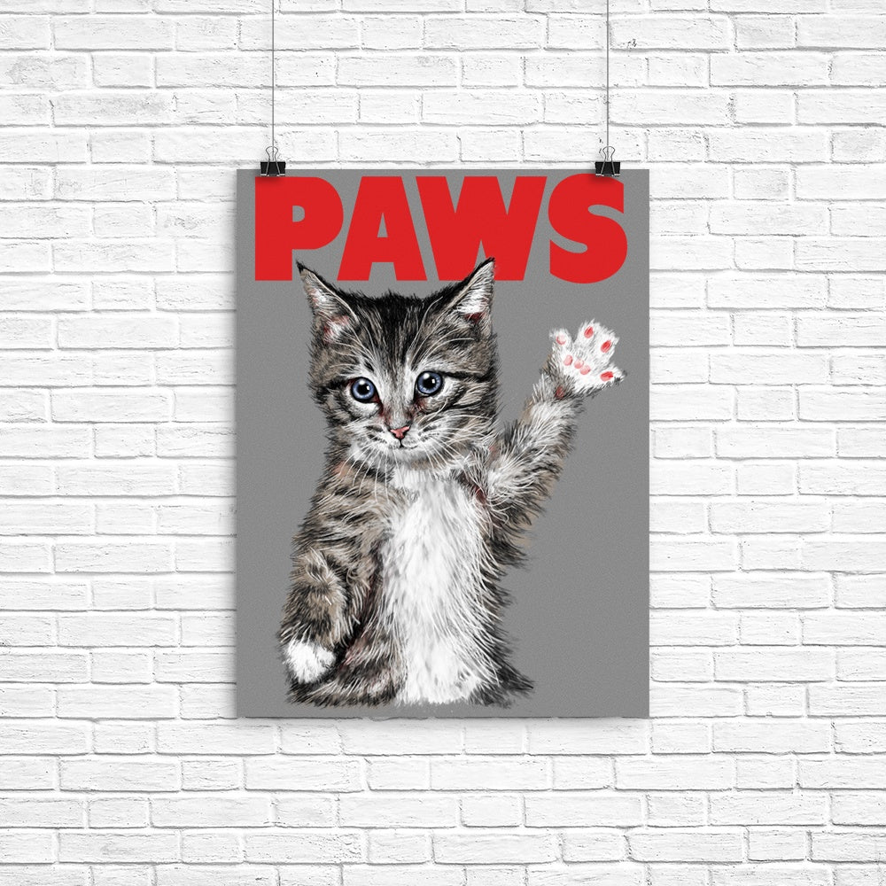 Paws - Poster