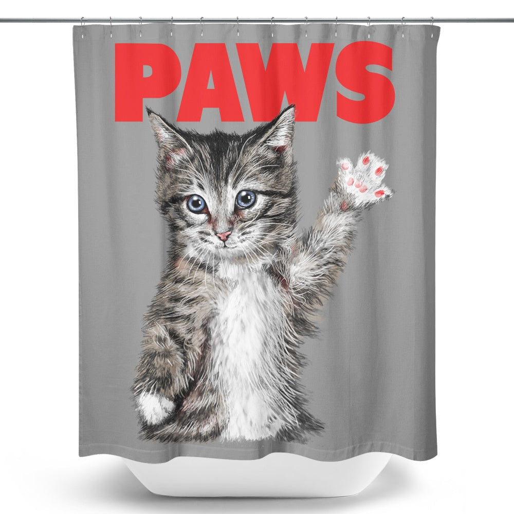 Paws - Shower Curtain