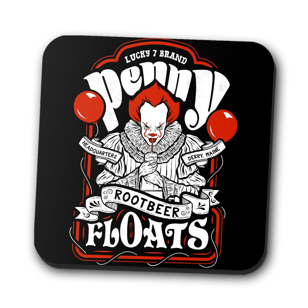Penny Floats - Coasters