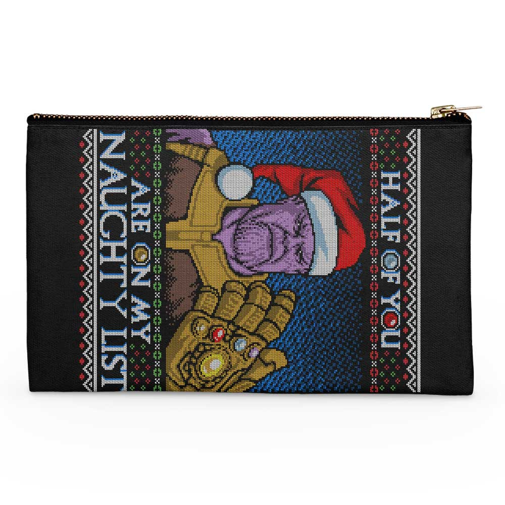 Perfectly Balanced Christmas - Accessory Pouch