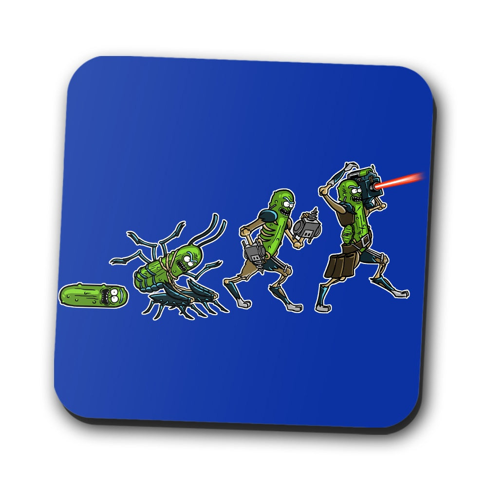 Pickle Evolution - Coasters