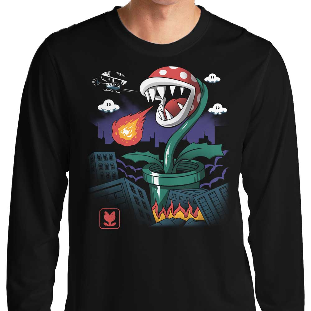 Piranha Kaiju - Long Sleeve T-Shirt