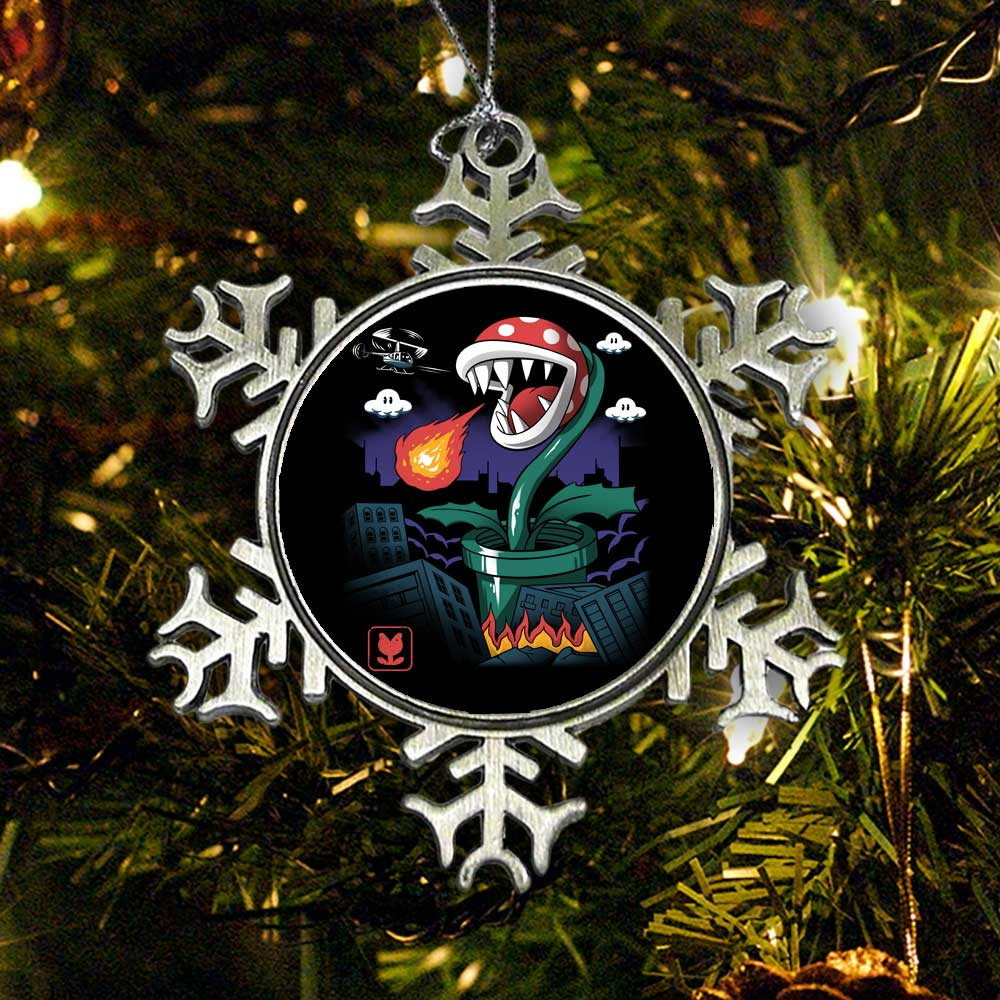 Piranha Kaiju - Ornament