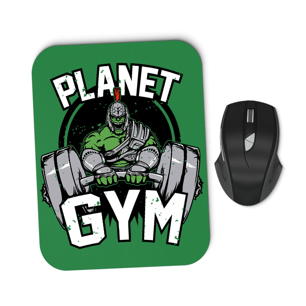 Planet Gym - Mousepad