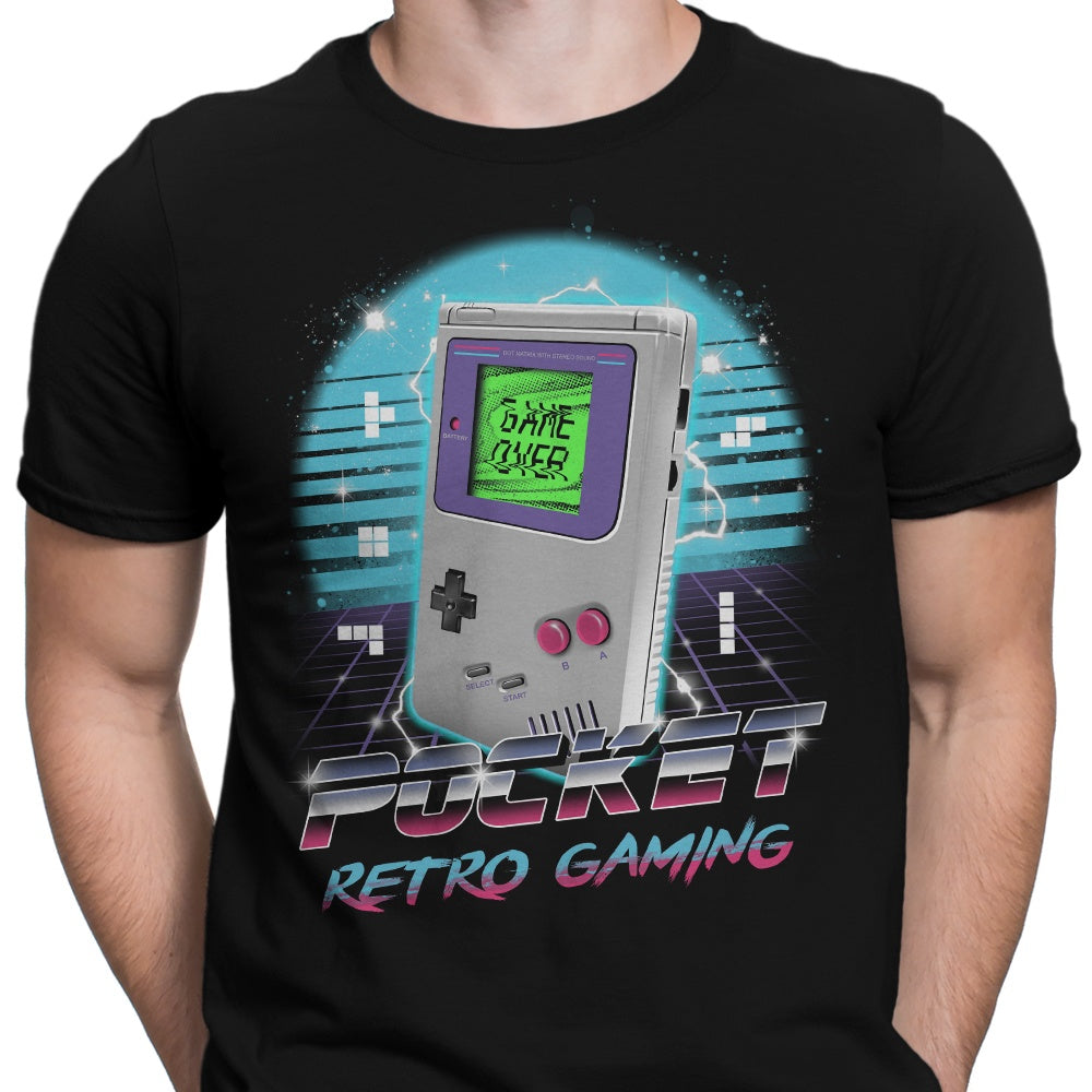 Pocket Retro Gaming - Men's Apparel