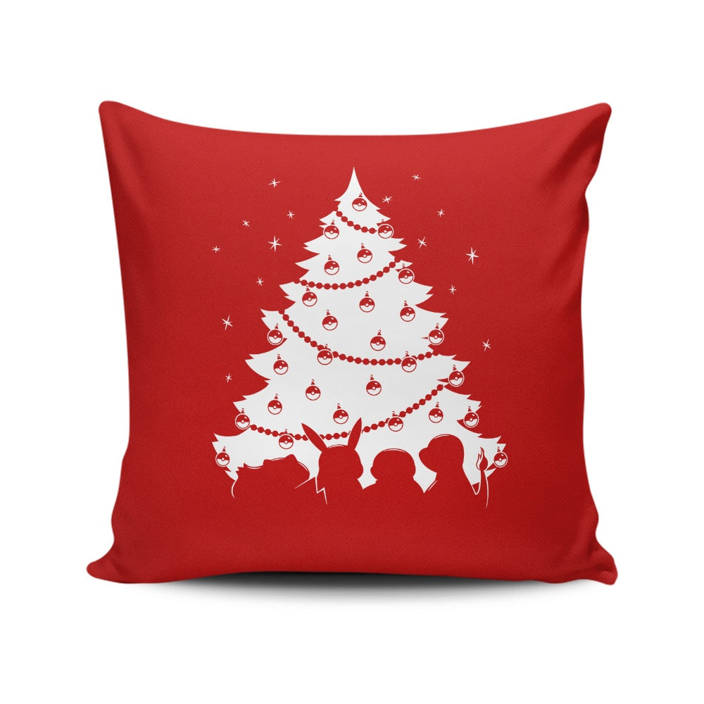 Pokemas - Throw Pillow