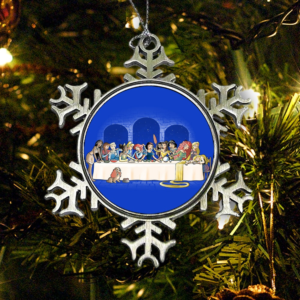 Princess Dinner - Ornament