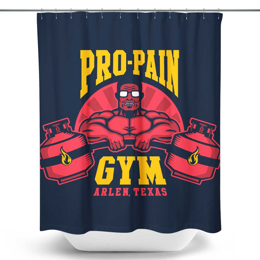 Propane Fitness - Shower Curtain