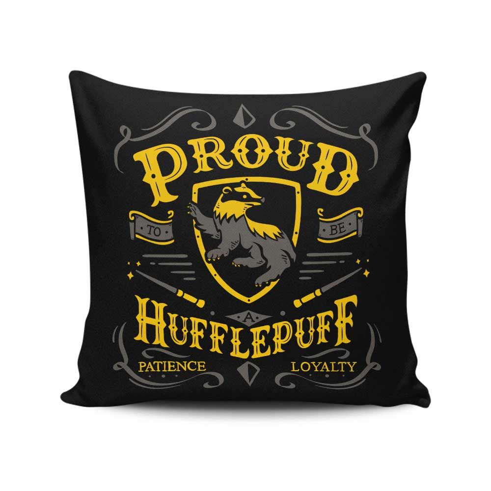 Proud to be a Badger - Throw Pillow