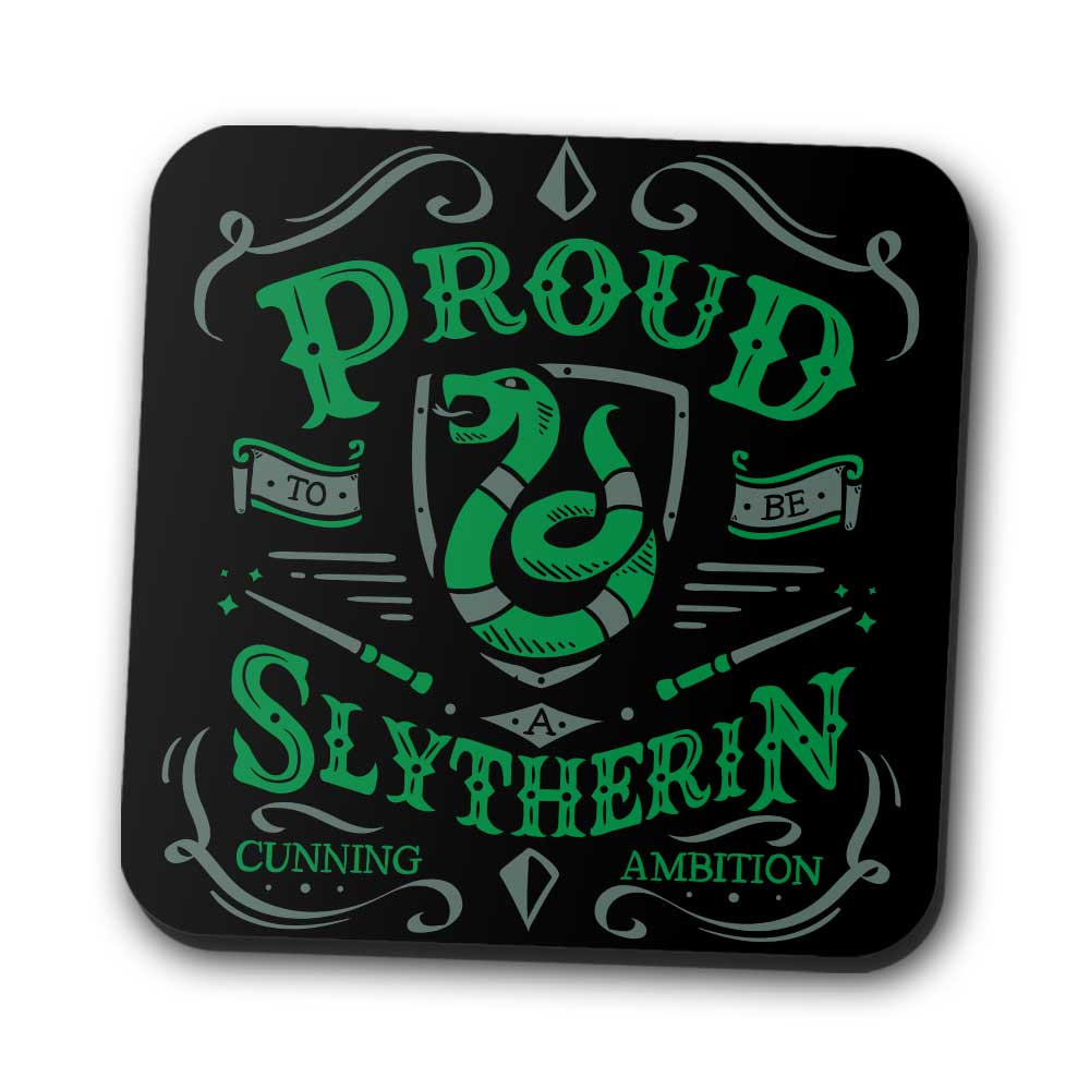 Proud to be a Serpent - Coasters