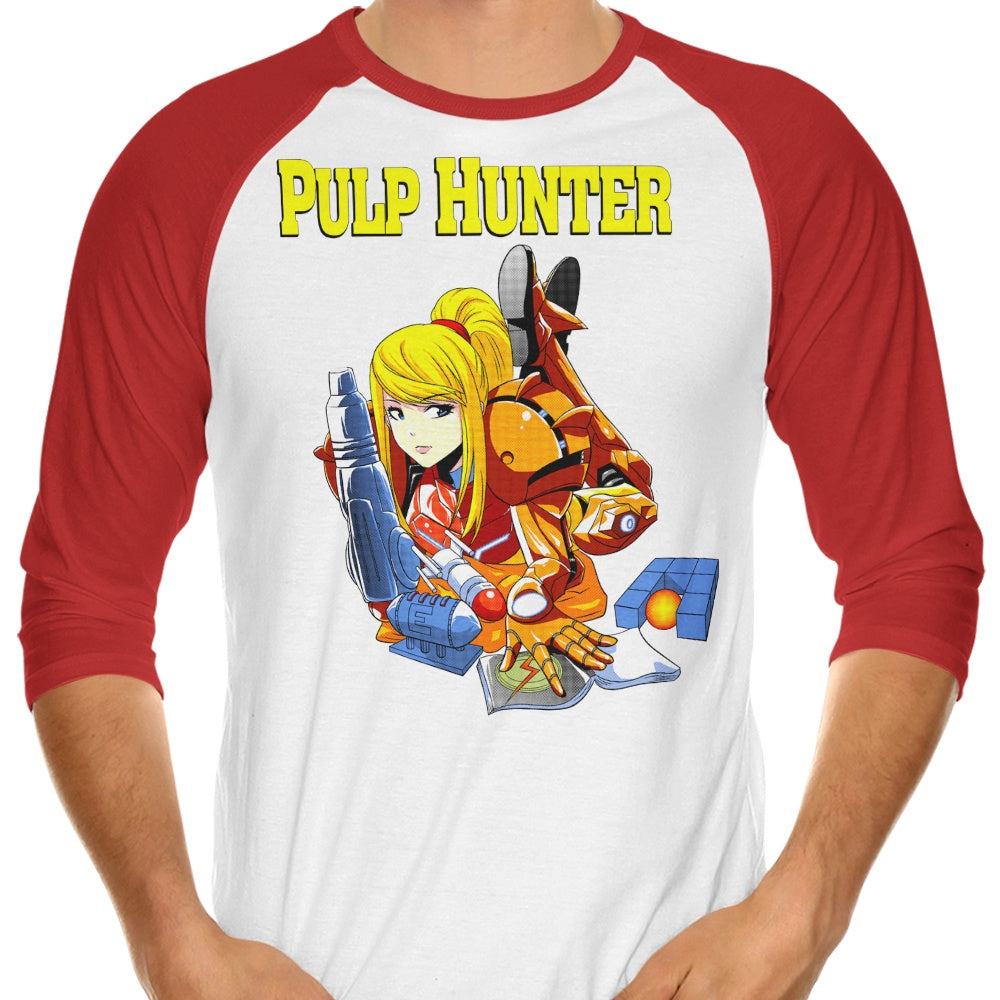 Pulp Hunter - 3/4 Sleeve Raglan T-Shirt