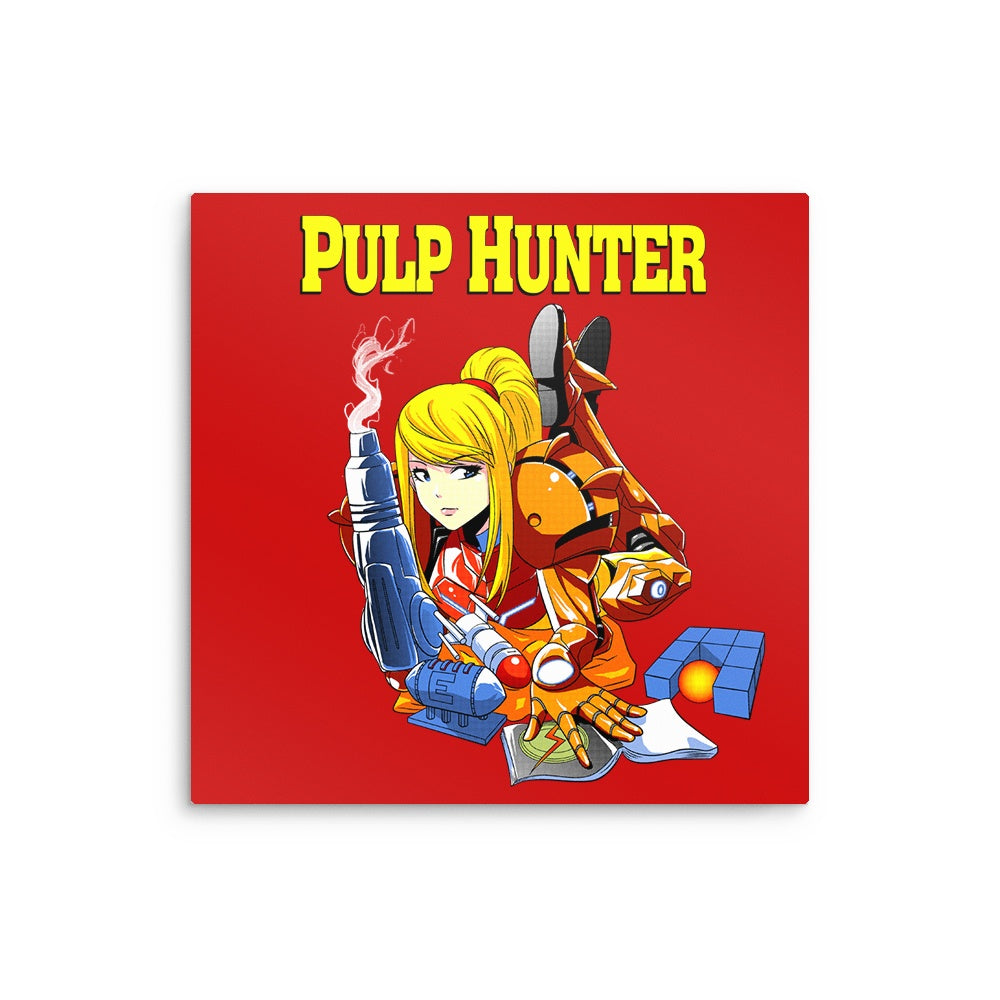 Pulp Hunter - Metal Print