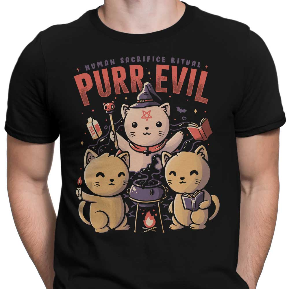 Purr Evil - Men's Apparel