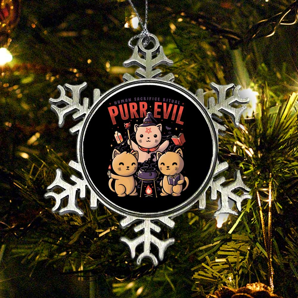 Purr Evil - Ornament