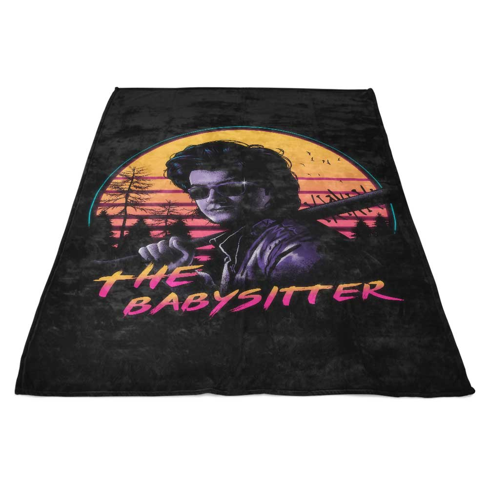 Rad Babysitter - Fleece Blanket