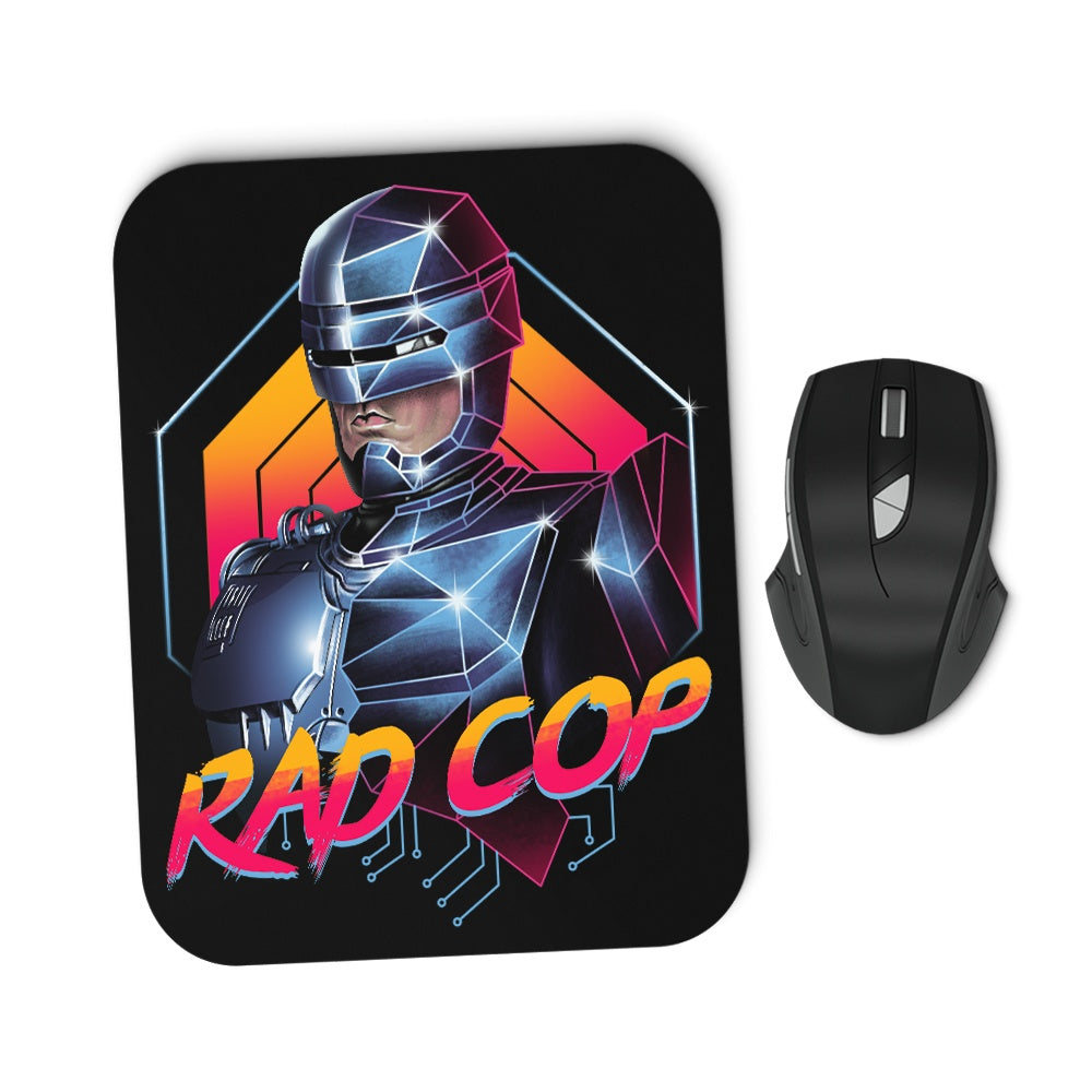 Rad Cop - Mousepad