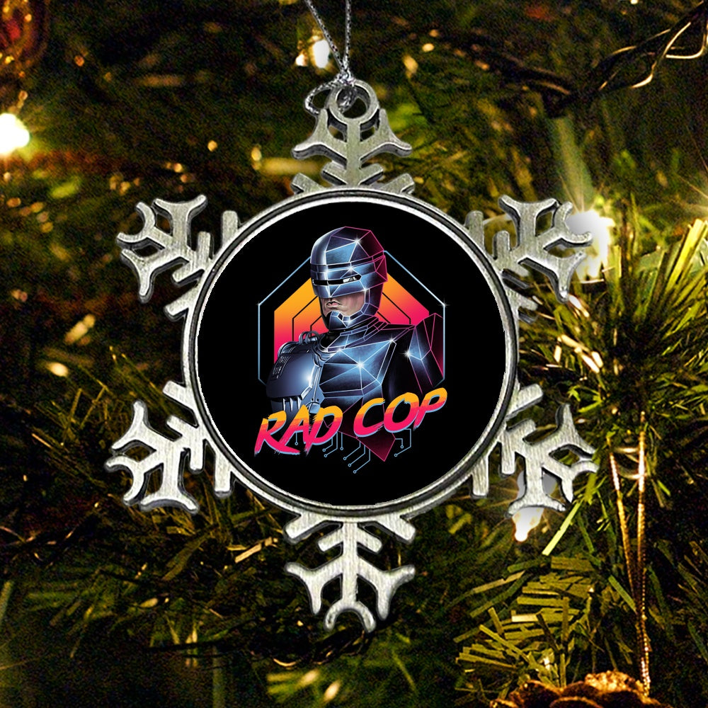 Rad Cop - Ornament
