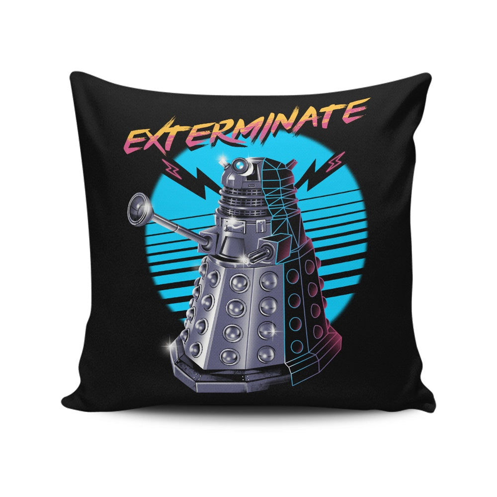 Rad Dalek - Throw Pillow