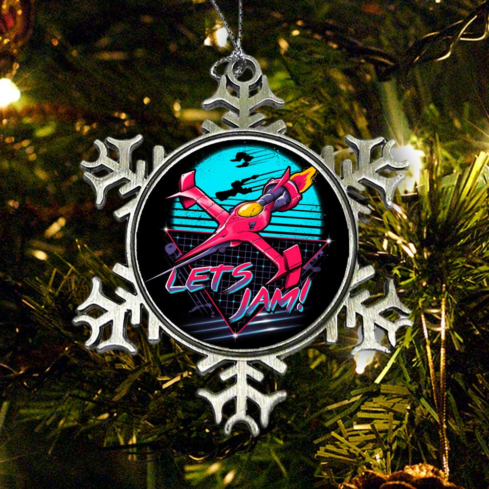 Rad Space Cowboy - Ornament