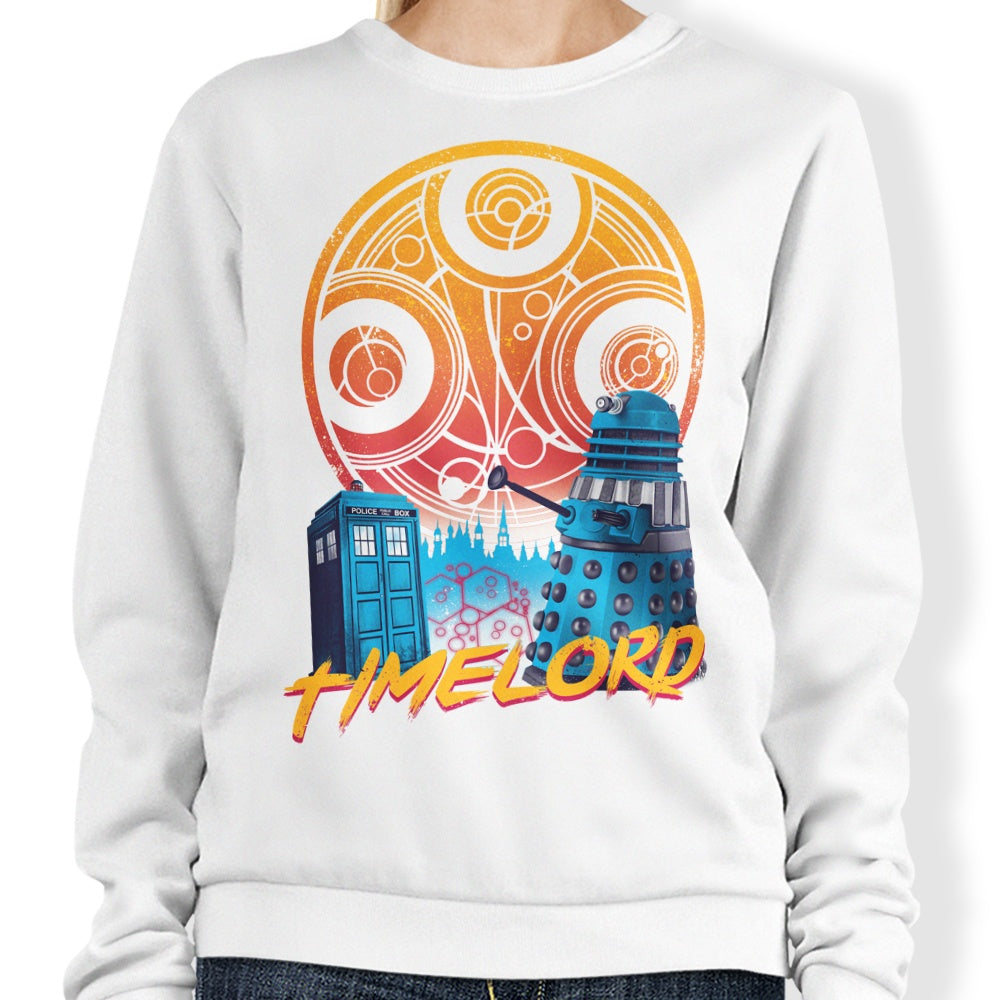 Rad Time Lord - Sweatshirt