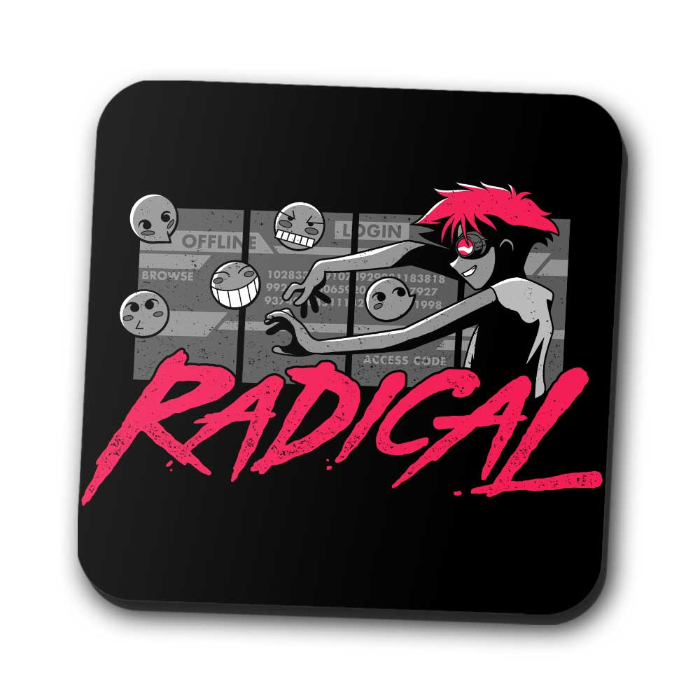 Radical Tech Support - Coasters