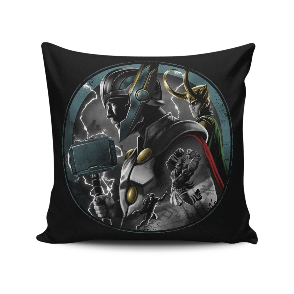 Ragnarok - Throw Pillow
