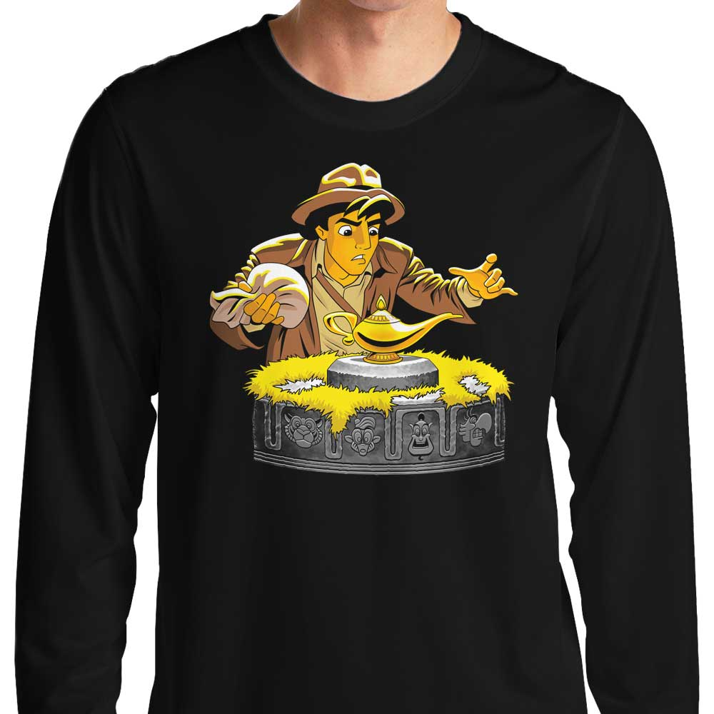 Raiders of the Lost Lamp - Long Sleeve T-Shirt