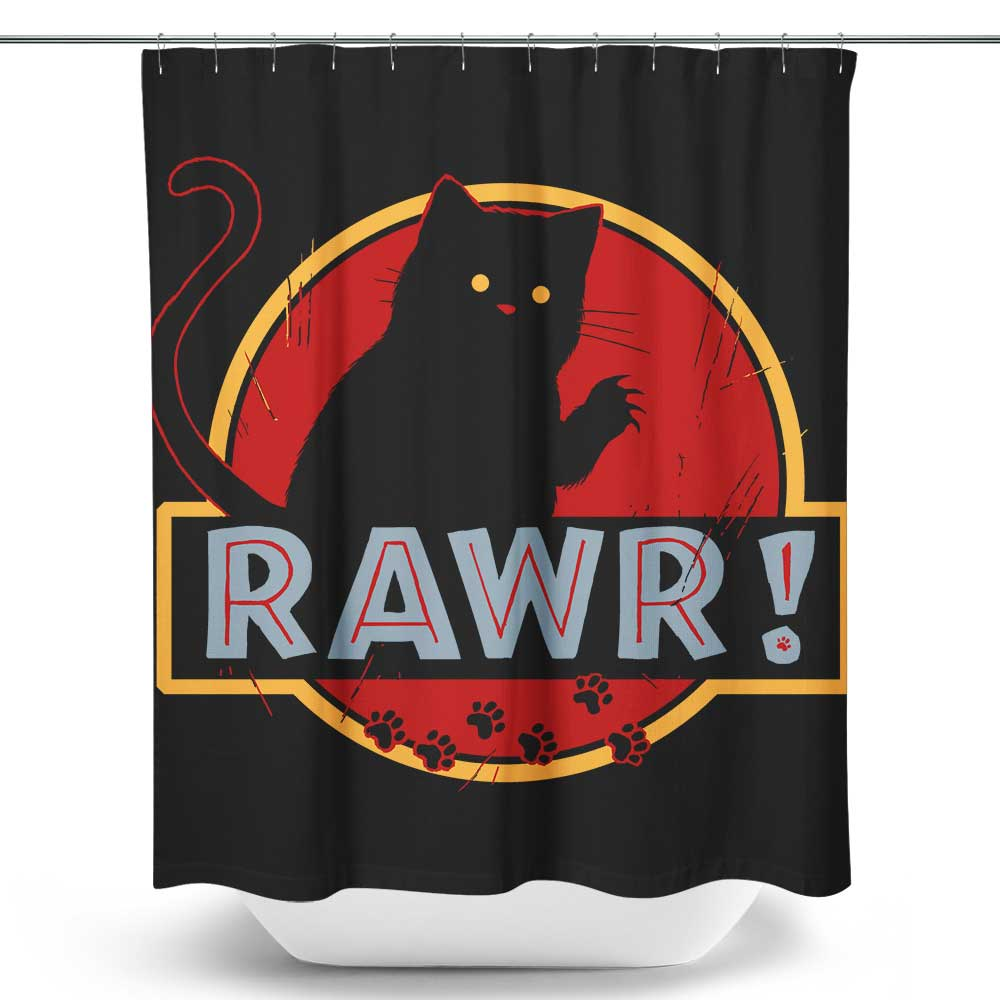 Rawr - Shower Curtain