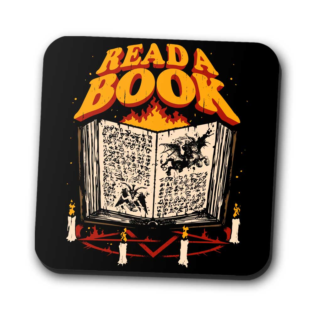 Read a Book - Coasters
