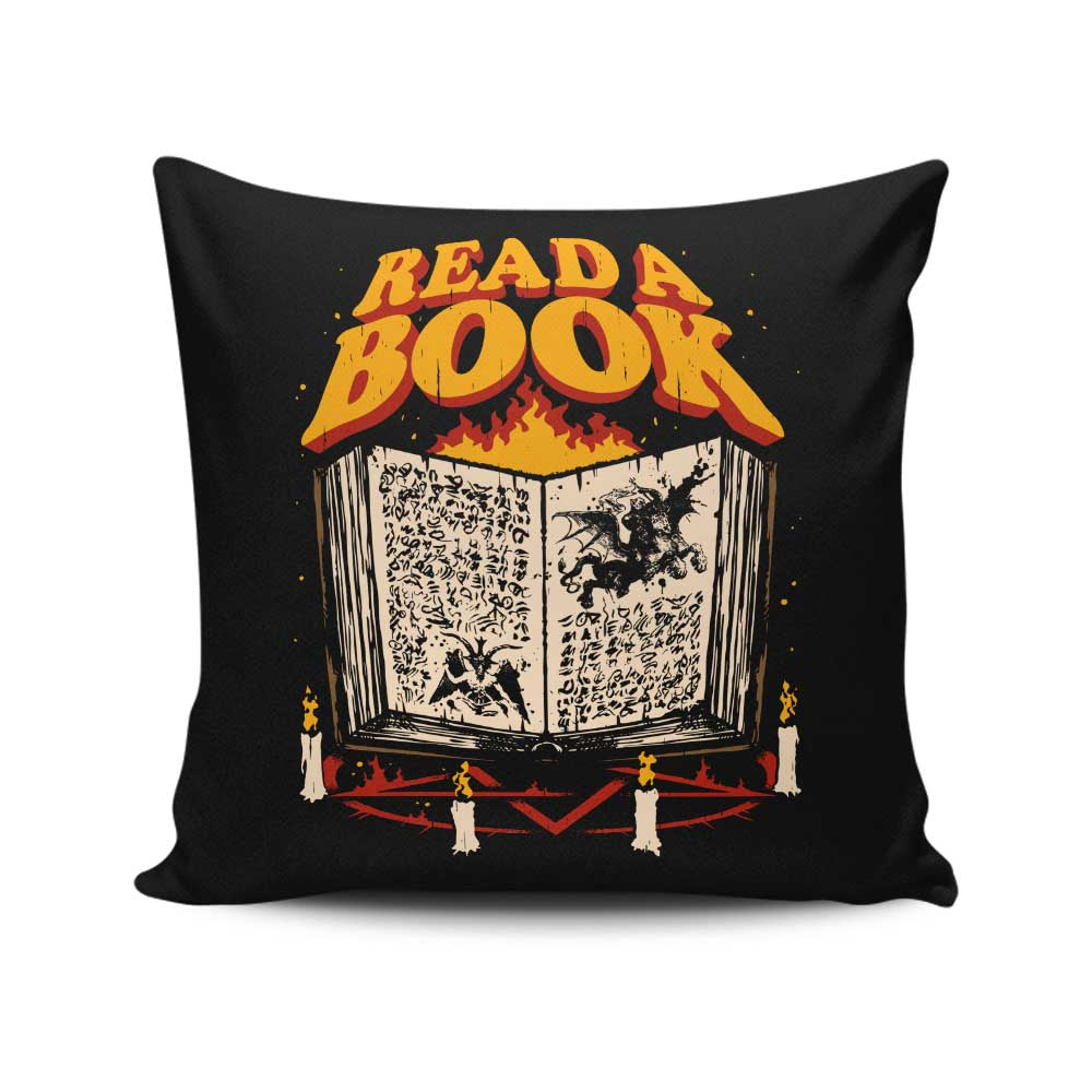 Read a Book - Throw Pillow
