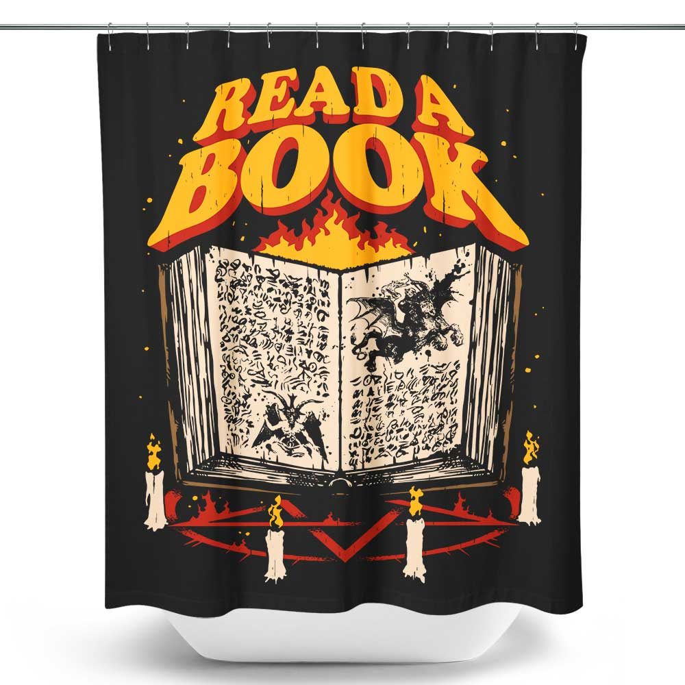 Read a Book - Shower Curtain