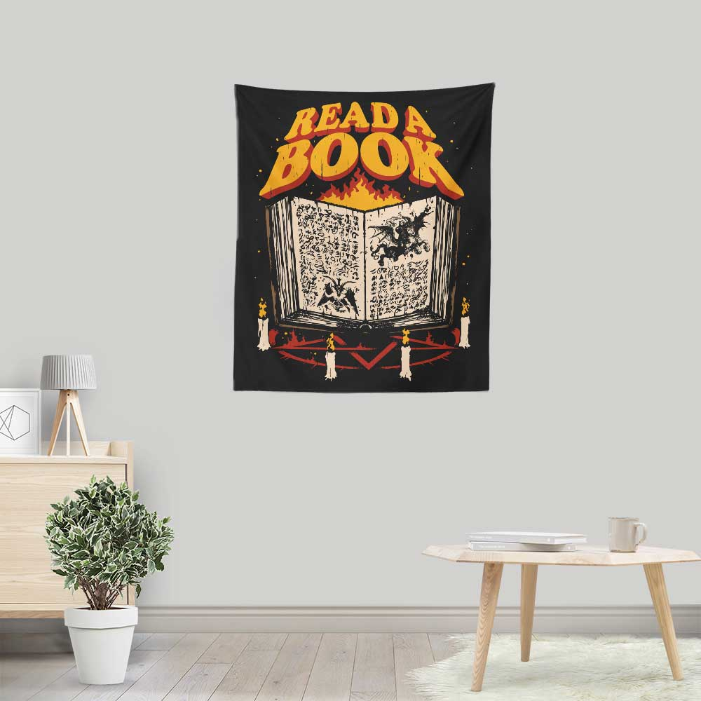 Read a Book - Wall Tapestry