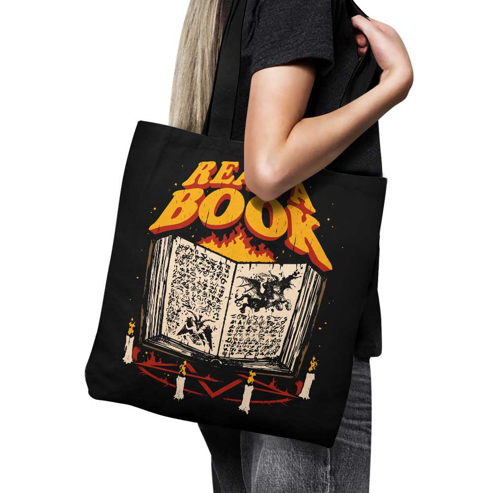 Read a Book - Tote Bag
